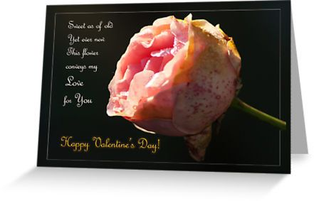 Yet ever new... Valentine's day - card by steppeland -  Vintage - for a life-long love...  blank inside  Price: €1.96 - Check discounts!
