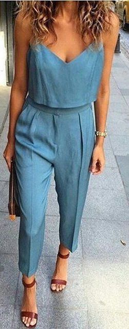 #summer #outfits / jumpsuit