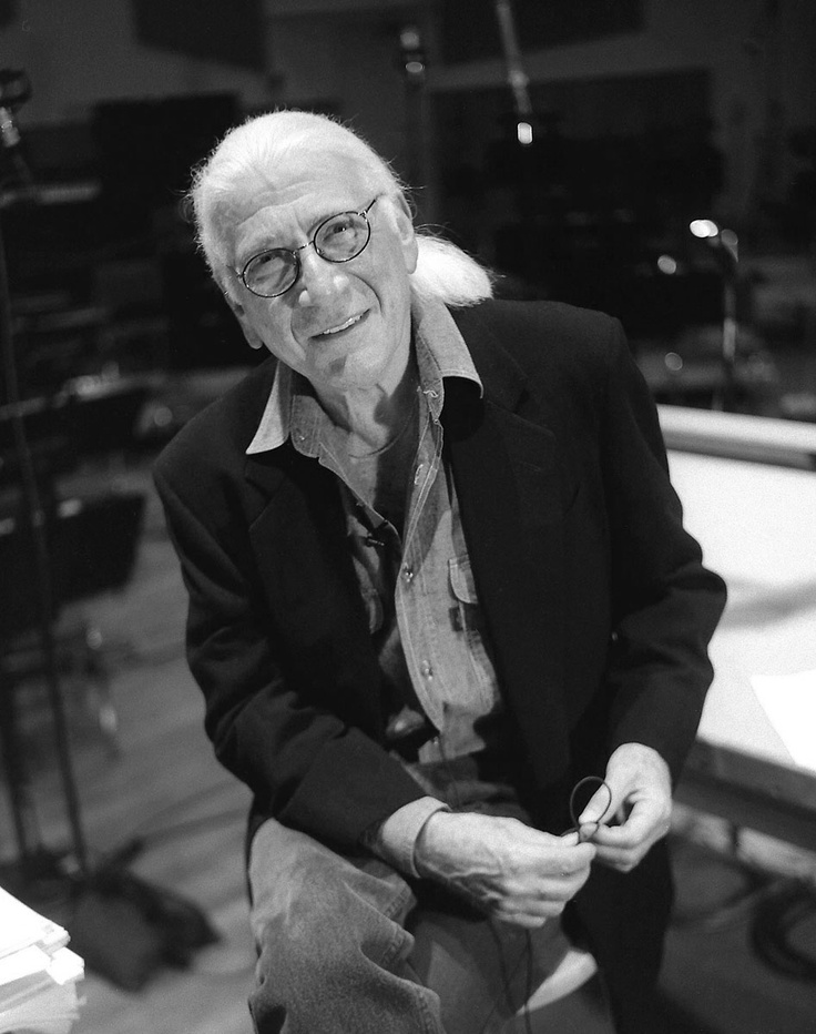 Acclaimed and Academy Award-winning film composer Jerry Goldsmith (1929-2004, seen
