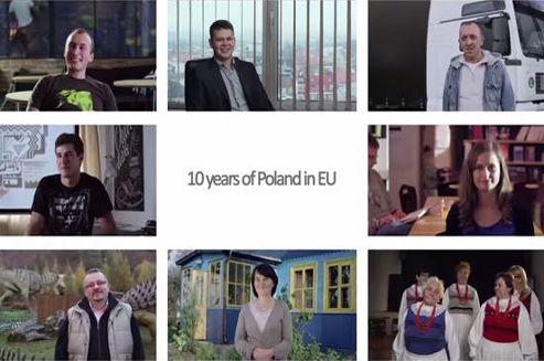 10 years of Poland in EU. Watch video prepared by Ministry of Foreign Affairs Republic of Poland.