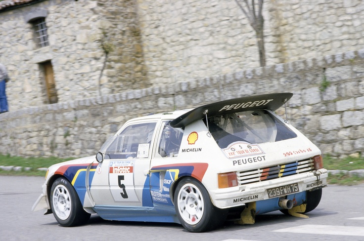 Peugeot 205 Evo 2 T16, Tour de Corse 1986