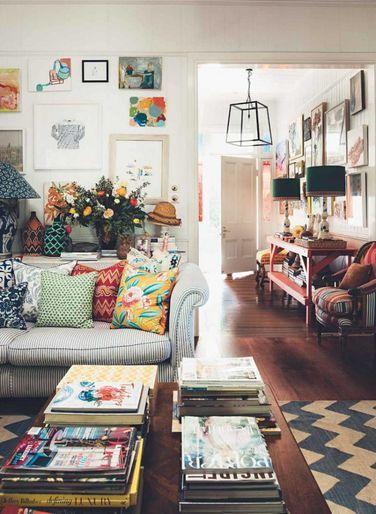Bohemian Home of Interior Designer Anna Spiro