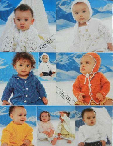 Knit-Crochet-Pattern-Book-Peter-Pan-Fashion-Collection-1-DK-Premature-2-3-y