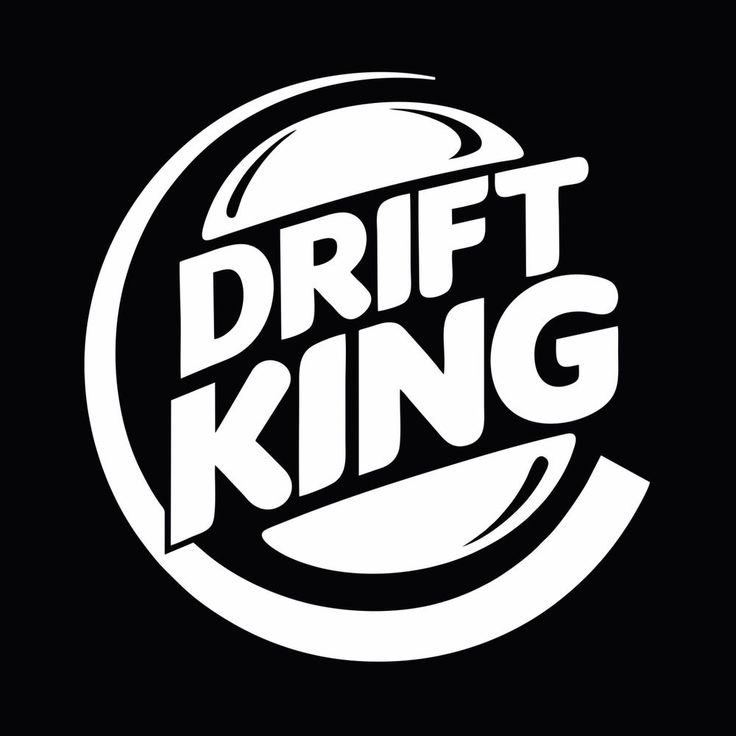 Drift king jdm drifting stance car window bumper vinyl decal sticker