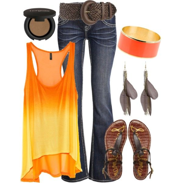 ☮ American Hippie Bohemian Boho Style ~ Summer Jeans Outfit!