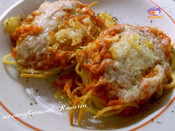 Spaghetti fritti all'amatriciana - ricetta gustosa