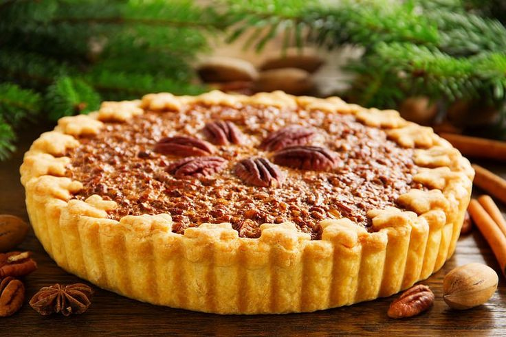 La vraie tarte aux noix de pécan américaine1