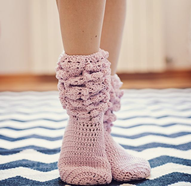 Knitting Pattern For Sport Socks : 17 Best images about crochet socks on Pinterest Ravelry, Patterns and Boots