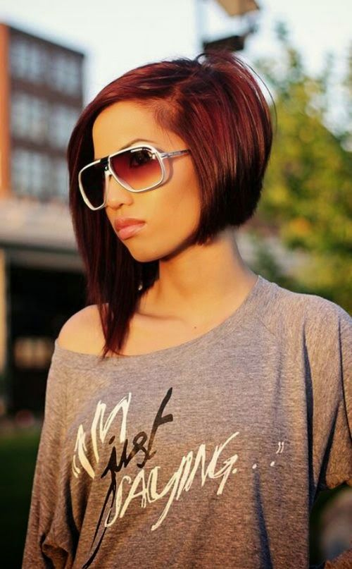 Types of bob haircuts  Asian bob:  Cut at the neckline, bobbed up around the edge.   A-line bob:  A typical bob cut, with slightly ...