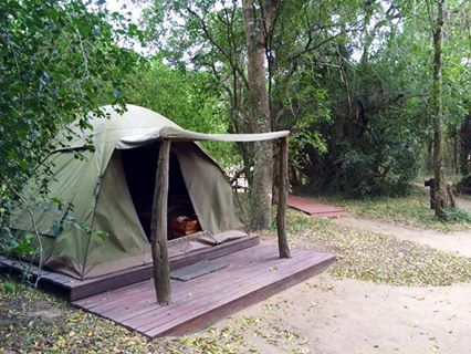 Narina Bush Camp is part of SANParks and is one of Addo National Parks camps. It is a beautiful, rustic bush camp situated in a forest and mountainous region. It is about 20 minutes from ANP's main gate. There is no electricity or signal, but you do have solar lighting, gas cooker and a paraffin heated shower. It is safe and quite and we loved it. Just bare in mind there is a 500 m walk from where you park your car to the camp. Michael the staff member who took care of us was fantastic.
