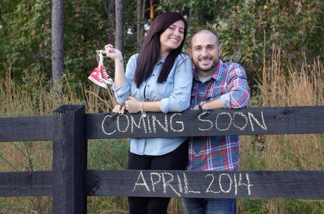 Pregnancy Announcement! @Katelyn Desnoyer