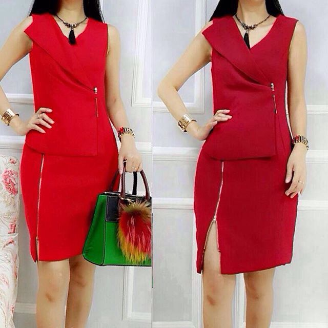 Ready Dress Red