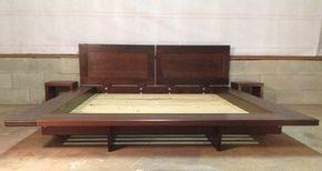 Floating Platform Bed - contemporary - Platform Beds - Charleston - Sanders Woodworks