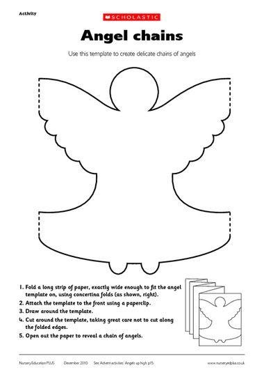 angel paper chain