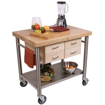 Kitchen Islands Home Styles Traditions Kitchen Island Two Bar Stools In White Cherry Finish Kitchensource Com