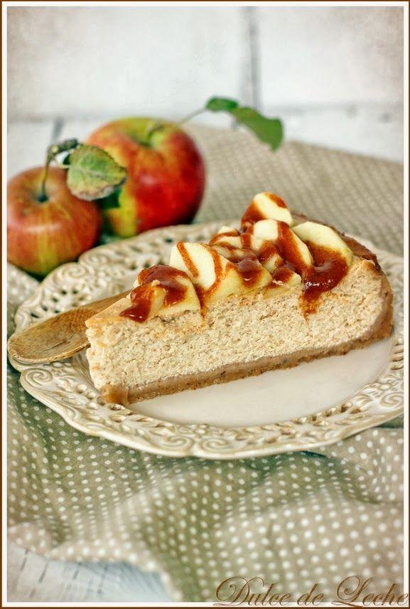Škoricovo jablkový cheesecake