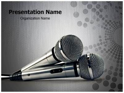 25 best communication powerpoint templates images by download our professionally designed microphones ppt template this microphones powerpoint template is toneelgroepblik Image collections