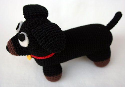Corpo cane bassotto amigurumi