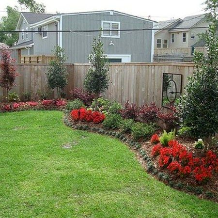 Simple and easy backyard landscaping ideas 37