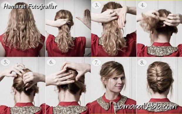 Farklı Saç Tasarımları Resimleri, Hamarat Abla'dan