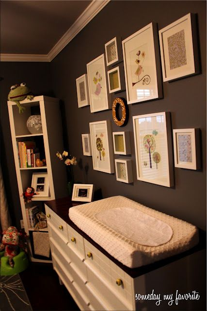 Someday My Favorite:- love the gallery wall in the gray bedroom.