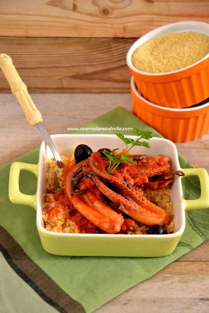 Guazzetto di moscardini e cous cous