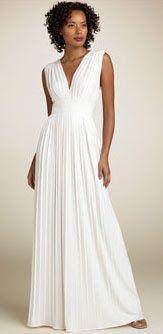 grecian dress | grecian wedding dresses