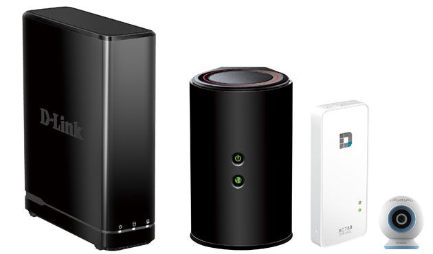 D-Link hits CES with portable router and charger combos, WiFi range extenders and surveillance equipment