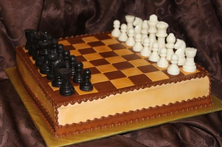 Brown Chess Board Monie S Cakes In 2019 Chess Cake