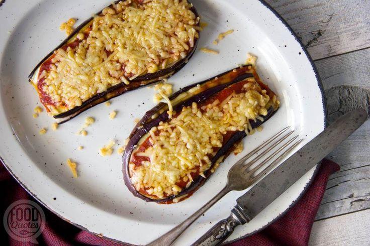 Simpele aubergine lasagne met maar 3 ingrediënten
