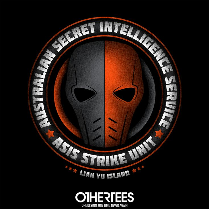 """ASIS Strike Team"" by alecxps T-shirts, Tank Tops, V-necks, Sweatshirts and Hoodies are on sale until February 17th at www.OtherTees.com #dccomics #dc #deathstroke #arrow #othertees #comics"