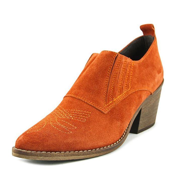 Sixtyseven 78805 Women Us 9.5 Orange Ankle Boot Eu 41