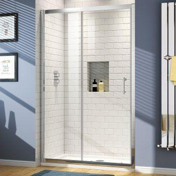 1200mm - 6mm - Elements Sliding Shower Door