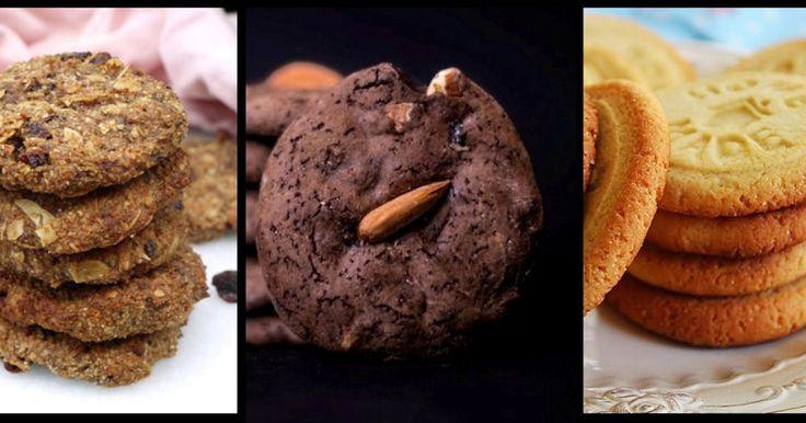 Têm chocolate, aveia, manteiga de amendoim, recheios, frutos secos. Estas bolachas são aquilo a que temos direito quando apetece algo reconfortante. Vamos fechar os olhos por uns minutos às calorias?