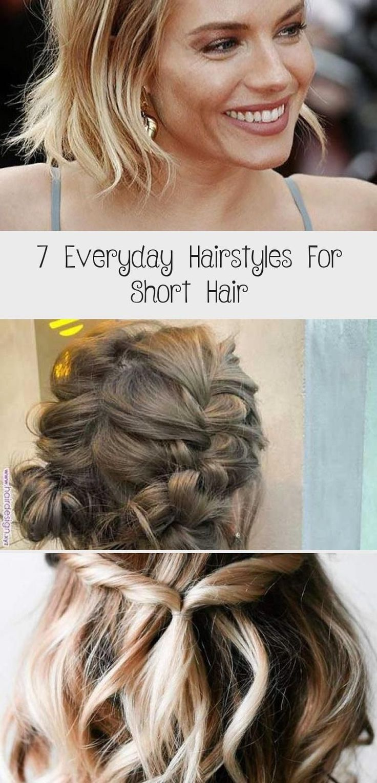 7 Everyday Hairstyles For Short Hair - Hair Styles - 7 ...