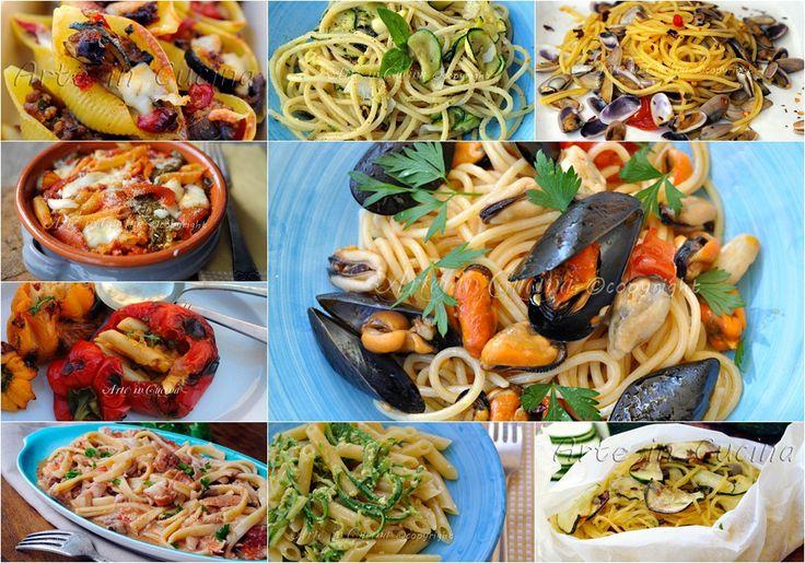 Primi piatti estivi facili e veloci, ricette con verdure di stagione, carne o pesce, idee semplici e saporite, primi per la cena per ospiti all'improvviso