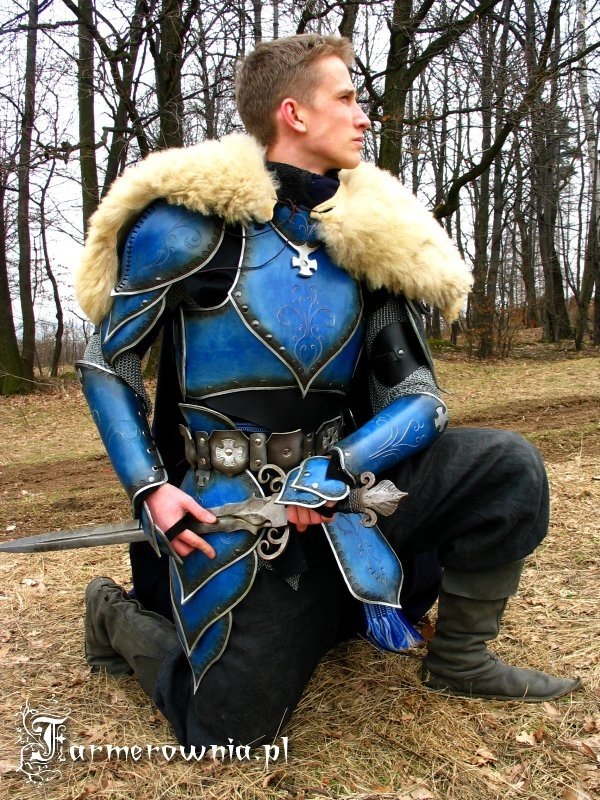 enameled leather armor | Leather & Fur Armor | Pinterest ...