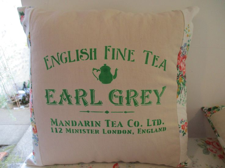 The afternoon tea cushion