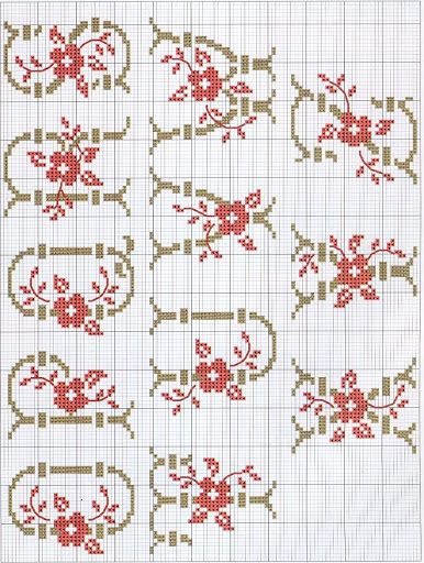 Floral Alpha -  q-z    De fil en aiguille 21 - Lita Zeta - Álbumes web de Picasa