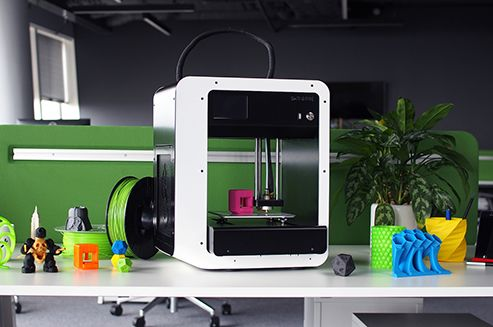 After the successful Kickstarter campaign, founders of Skriware home 3D printer have gone all the way and launched a corresponding online store called Skrimarket. From now on, the startup offers full and super-simplified system which brings 3D printing right to users doorsteps.  #Skriware #3Dprinter