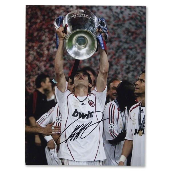 Signed Kaka AC Milan Photo