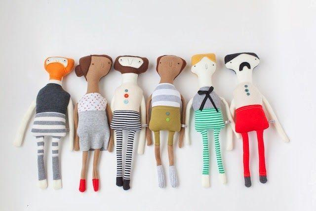Bambole di pezza fai da te: idee per grandi e piccini