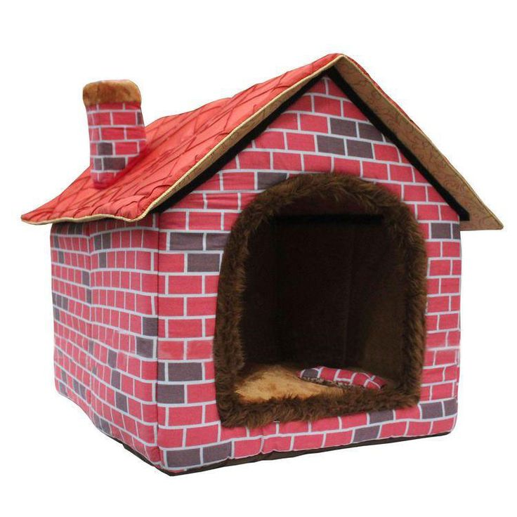 17 best images about luxury indoor dog houses on pinterest for Soft indoor dog house large
