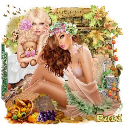 "MI RINCÓN GÓTICO: CT GRAPHICS OF FANTASY """"Sweet Autumn"""""