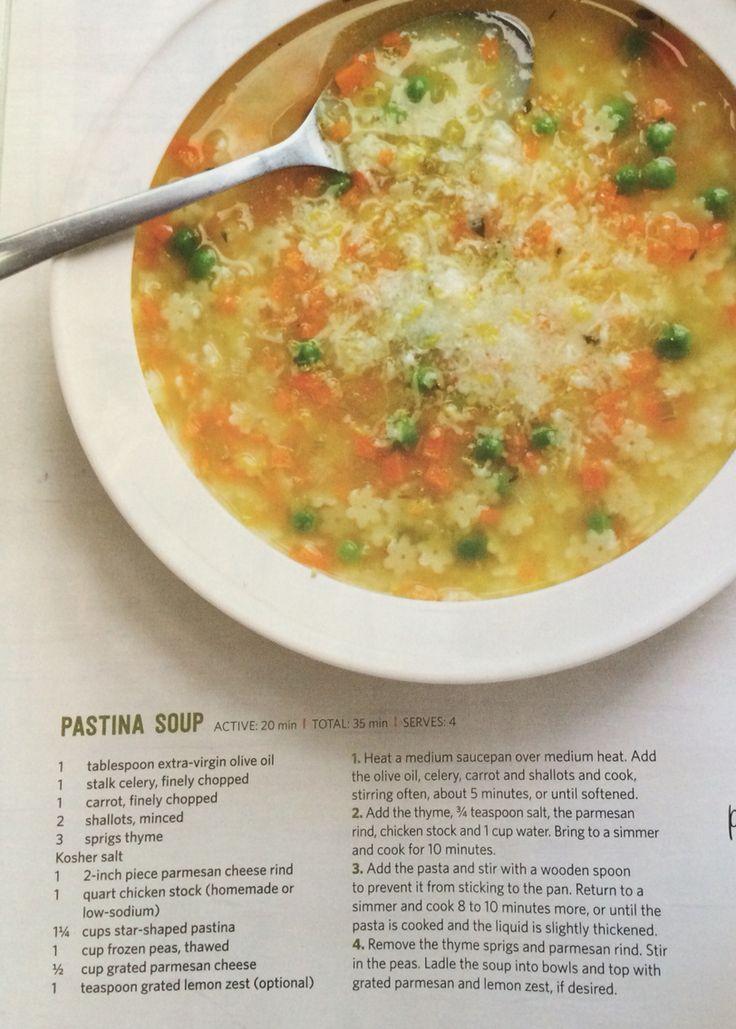 Giada pastina soup