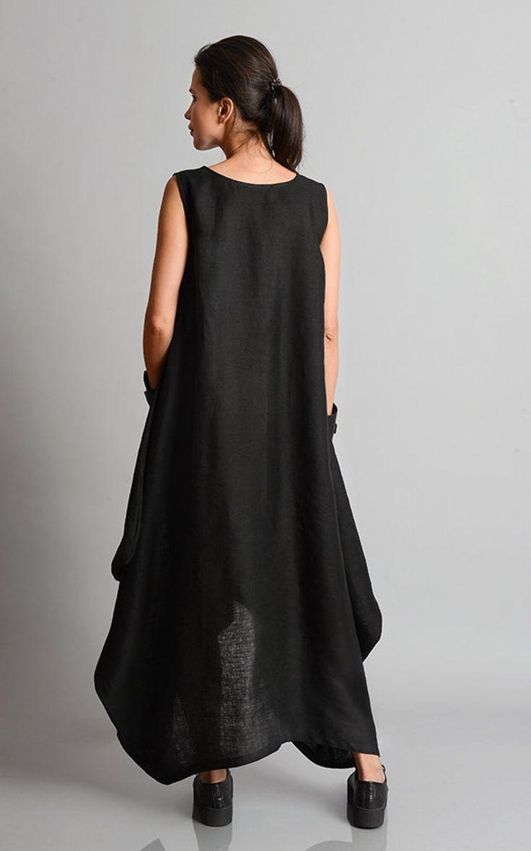 linen maxi dress plus size