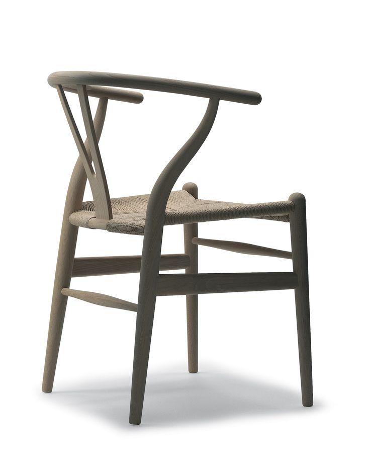 CH24 (chaise wishbone ou chaise Y) Design Hans Wegner,1950. Carl Hansen & son