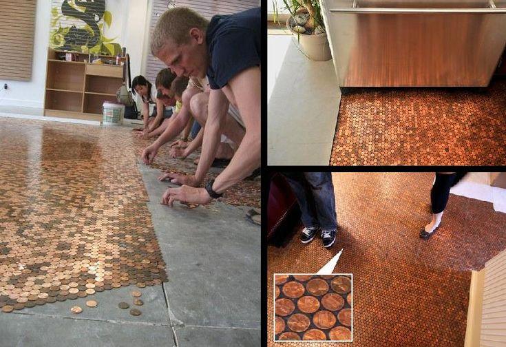 Penny Flooring Just Makes Cents