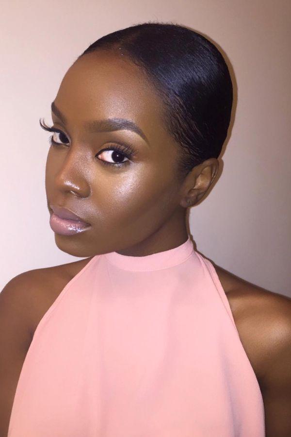 Natural makeup looks for brown skin