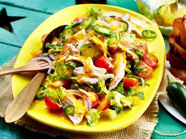 Sommersalat mit Mango-Jalapeño-Dressing Rezept | LECKER